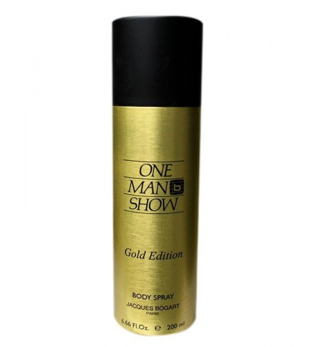 JACQUES BOGART ONE MAN SHOW GOLD DEO 200ML